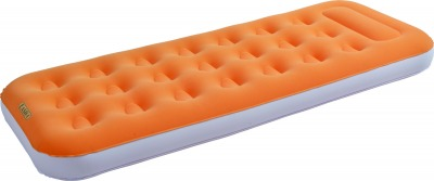 Надувная кровать RELAX EASIGO FLOCKED AIR BED SINGLE  188x73x22 27313 (53002)