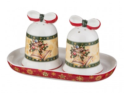 "Набор для специй ""christmas collection"" 3 пр. (кор=20наб.) Lefard (586-134)"