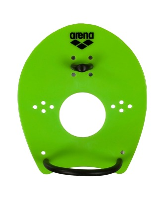 Лопатки Elite Hand Paddle Acid Lime/Black, 95250 65, L (319461)