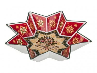 "Салатник ""christmas collection"" диаметр=32 см (кор=8шт.) Lefard (586-126)"