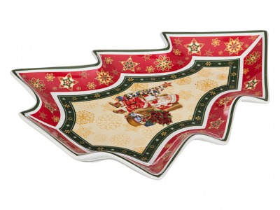 "Блюдо ""christmas collection"" 26*21 см. высота=3,5 см Lefard (586-054)"