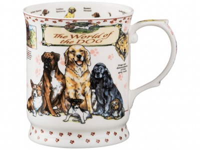 "Кружка ""the world of the dog"" 450 мл. Porcelain Manufacturing (264-813)"